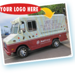 branded ice cream truck